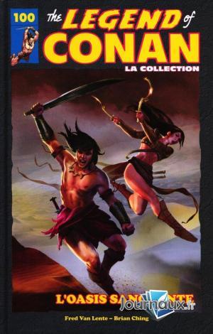 The Savage Sword of Conan 100 TPB hardcover (cartonnée)