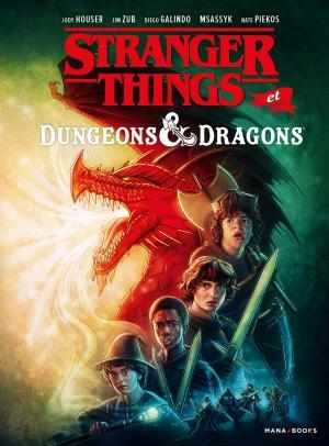 Stranger things - Dungeons & dragons  TPB Hardcover (cartonnée)