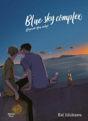 Blue sky Complex, Dégradé bleu indigo  Manga