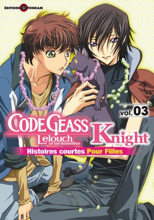 couverture, jaquette Code Geass Knight for Girls 3  (Tonkam)