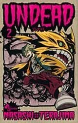 couverture, jaquette Undead 2  (Shogakukan)