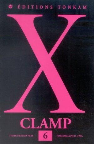 couverture, jaquette X 6  (Tonkam)