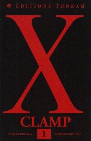 couverture, jaquette X 1  (Tonkam) Manga