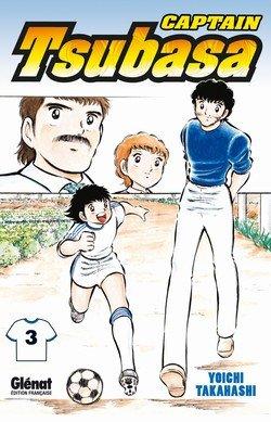 couverture, jaquette Captain Tsubasa 3 Réédition Française (Glénat Manga)