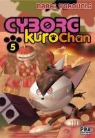 couverture, jaquette Cyborg Kurochan 5  (Pika) Manga