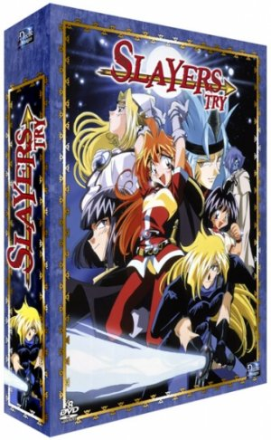 Slayers Try édition Collector - VOSTFR / VF - Réédition