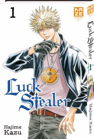 couverture, jaquette Luck Stealer 1  (kazé manga)