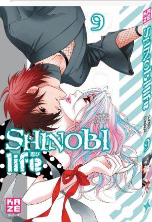 couverture, jaquette Shinobi Life 9  (kazé manga)