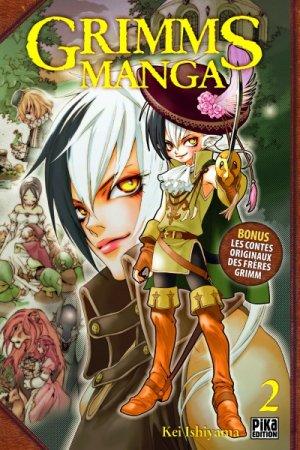 couverture, jaquette Grimms Manga 2  (Pika)
