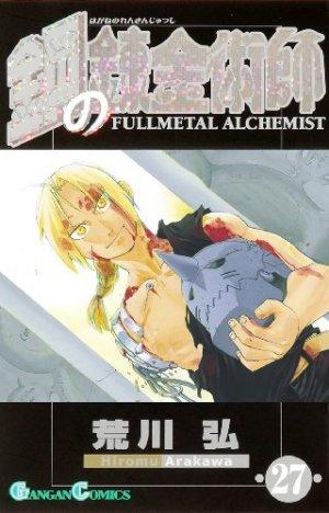 couverture, jaquette Fullmetal Alchemist 27  (Square enix)