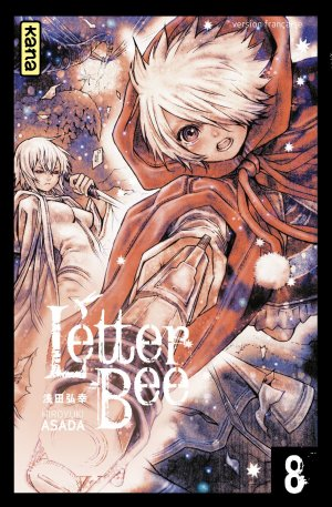couverture, jaquette Letter Bee 8  (kana) Manga