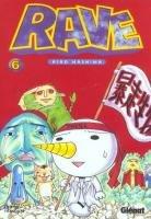 couverture, jaquette Rave 6  (Glénat Manga)