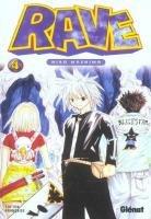 couverture, jaquette Rave 4  (Glénat Manga)