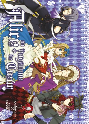 couverture, jaquette Alice au Royaume de Coeur 4  (Ki-oon)