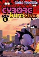 couverture, jaquette Cyborg Kurochan 8  (Pika)