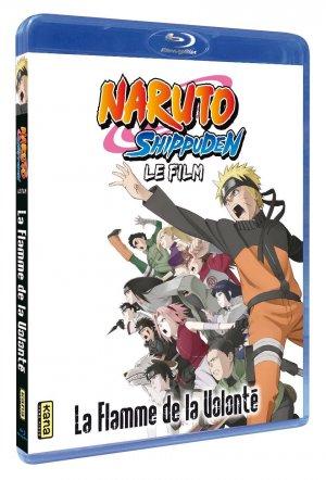 Naruto Shippûden film 3 - La Flamme de la Volonté édition Blu-Ray