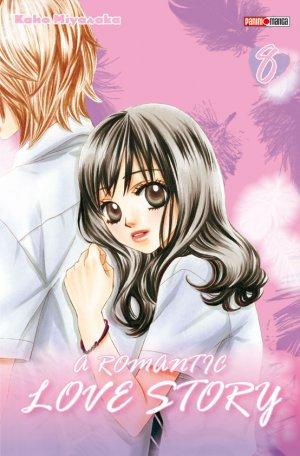 couverture, jaquette A Romantic Love Story 8  (Panini manga)
