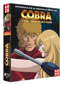 couverture, jaquette Cobra The Animation  INTEGRALE BLU-RAY (Kaze)