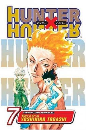 couverture, jaquette Hunter X Hunter 7 Américaine (Viz media)