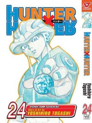 couverture, jaquette Hunter X Hunter 24 Américaine (Viz media)