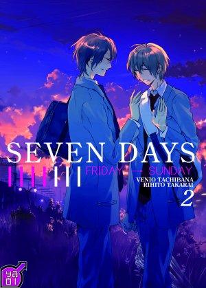 couverture, jaquette Seven Days 2  (Taifu Comics)