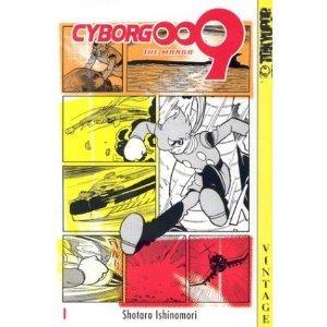 Cyborg 009 édition Américaine