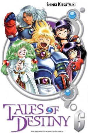 couverture, jaquette Tales of Destiny 6  (Ki-oon)