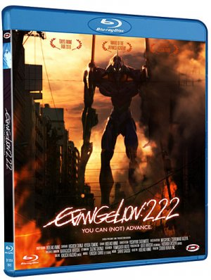 couverture, jaquette Evangelion : 2.22 You can (not) advance  Blu-Ray Simple (Dybex) Film