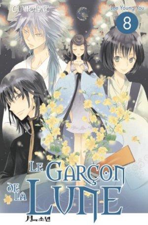 couverture, jaquette Le garçon de la lune 8  (Clair de lune Manga)