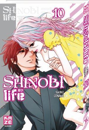 couverture, jaquette Shinobi Life 10  (kazé manga)