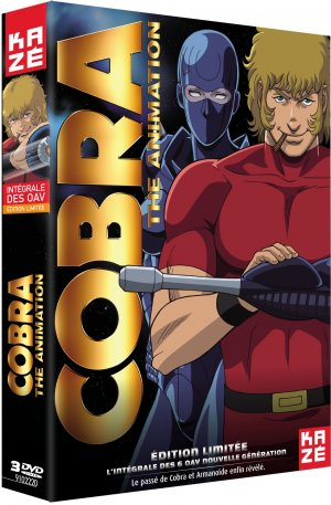 Cobra The Animation OAV - The Psycho Gun et Time Drive édition Intégrale OAV - DVD