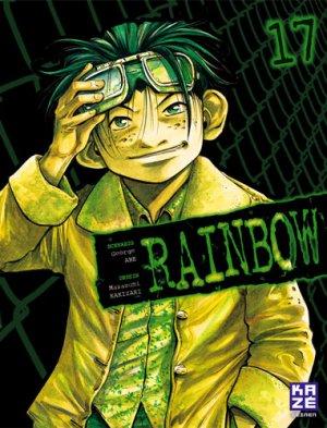 couverture, jaquette Rainbow 17 Réédition Française (kazé manga)