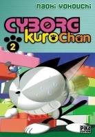 couverture, jaquette Cyborg Kurochan 2  (Pika)
