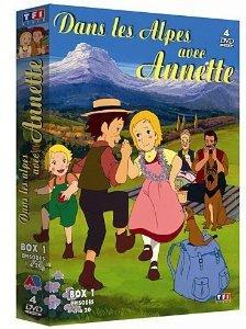 Dans les Alpes avec Annette Box 1 Série TV animée