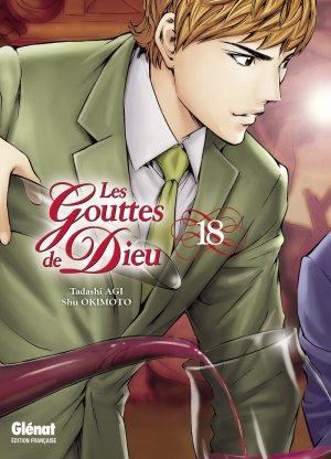 couverture, jaquette Les Gouttes de Dieu 18  (Glénat Manga)