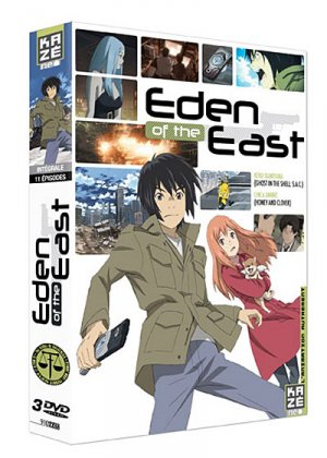 Eden of the East édition DVD