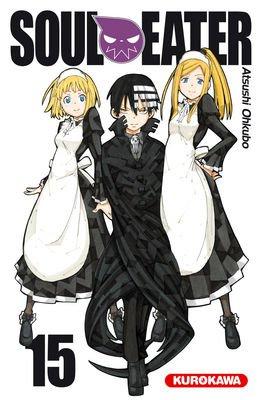 couverture, jaquette Soul Eater 15  (Kurokawa) Manga