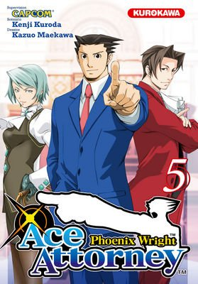 Ace Attorney Phoenix Wright T.5