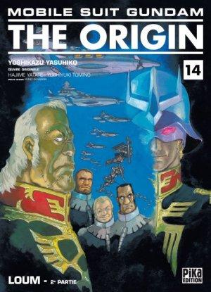 couverture, jaquette Mobile Suit Gundam - The Origin 14  (Pika)