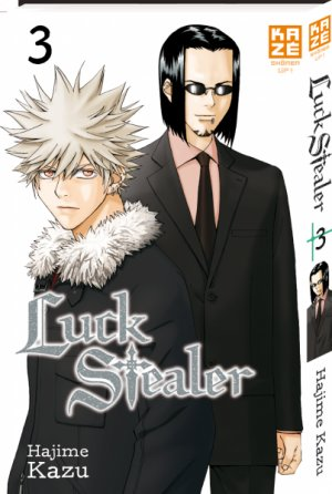 couverture, jaquette Luck Stealer 3  (kazé manga)