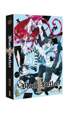 couverture, jaquette Black Butler - Saison 2 2 Coffret DVD (Kana home video)