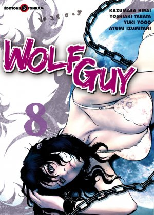 couverture, jaquette Wolf Guy 8  (Tonkam)