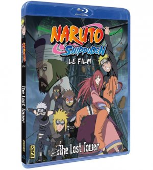 Naruto Shippuden Film 4 - The Lost Tower édition Blu-ray