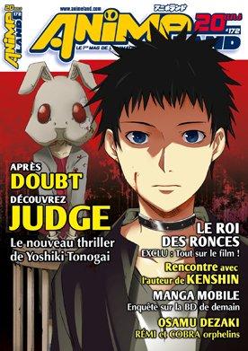 couverture, jaquette Animeland 172  (Anime Manga Presse)