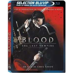 Blood The Last Vampire édition Blu-ray VIP