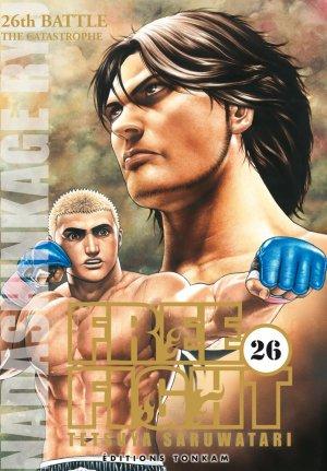 couverture, jaquette Free Fight - New Tough 26  (Tonkam) Manga