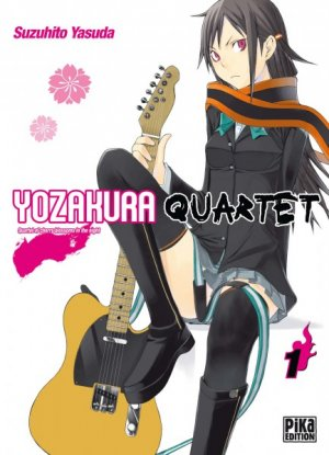 Yozakura Quartet édition Simple