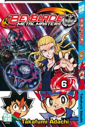 Beyblade Metal Fusion/Masters/Fury # 6