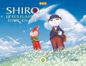 Shiro et les flammes d'arc-en-ciel