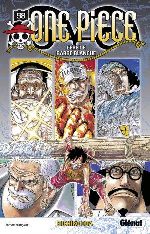 couverture, jaquette One Piece 58  (Glénat Manga)